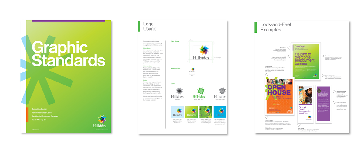 Hillsides Graphic Standards