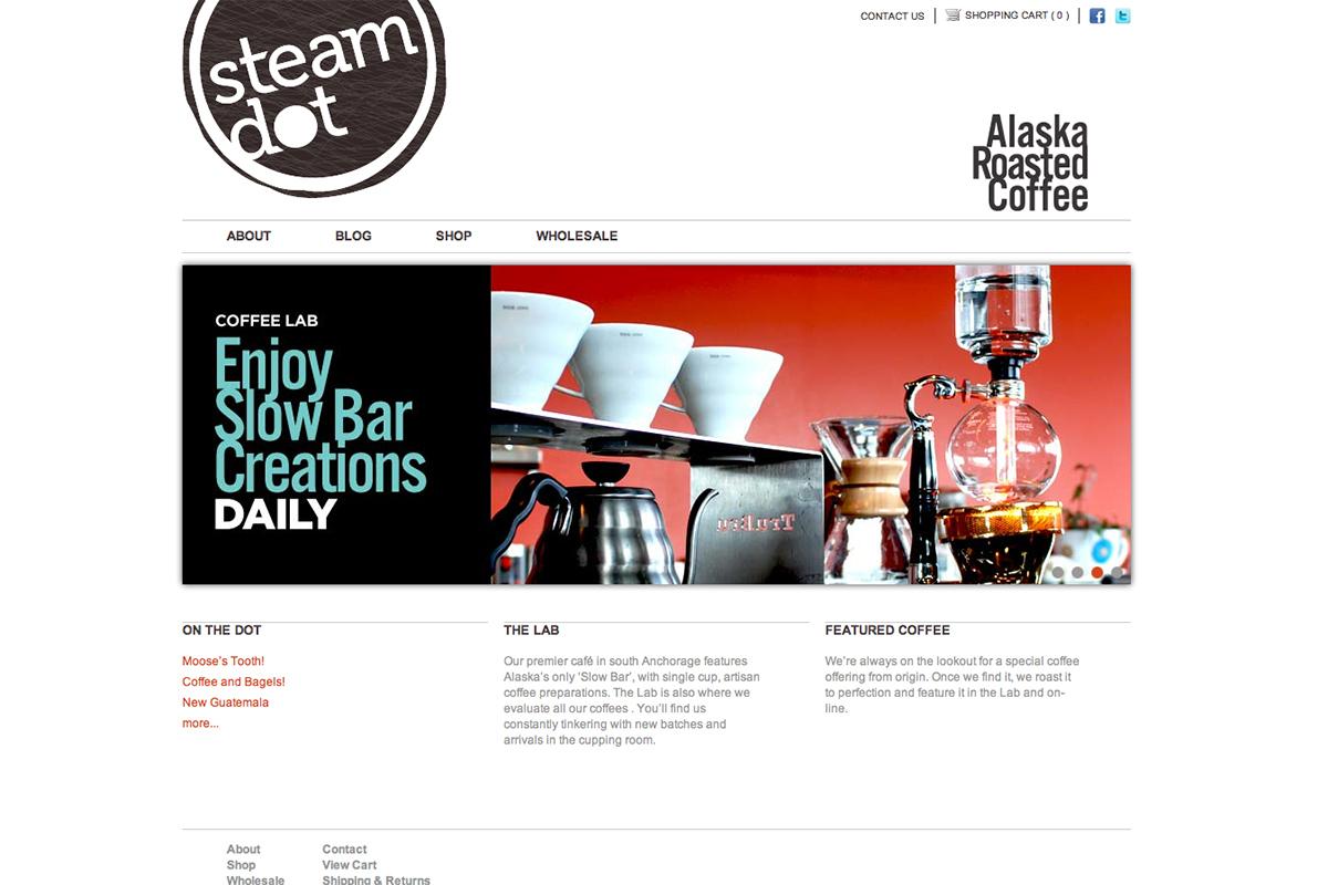 SteamDot Homepage