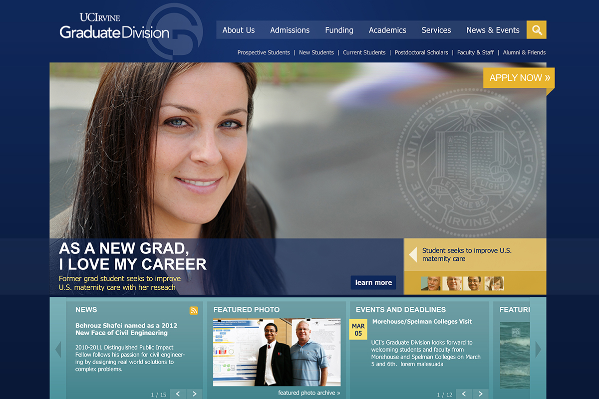 UCI Homepage