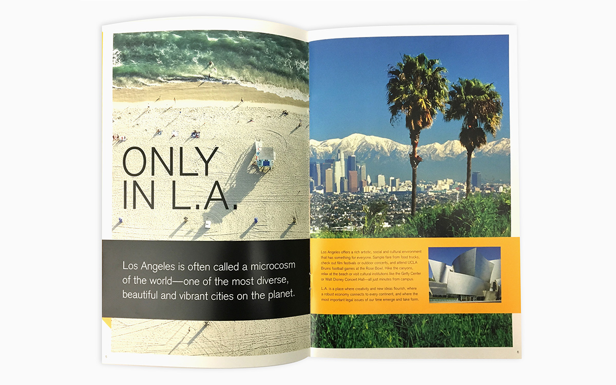 UCLA Viewbook Spread